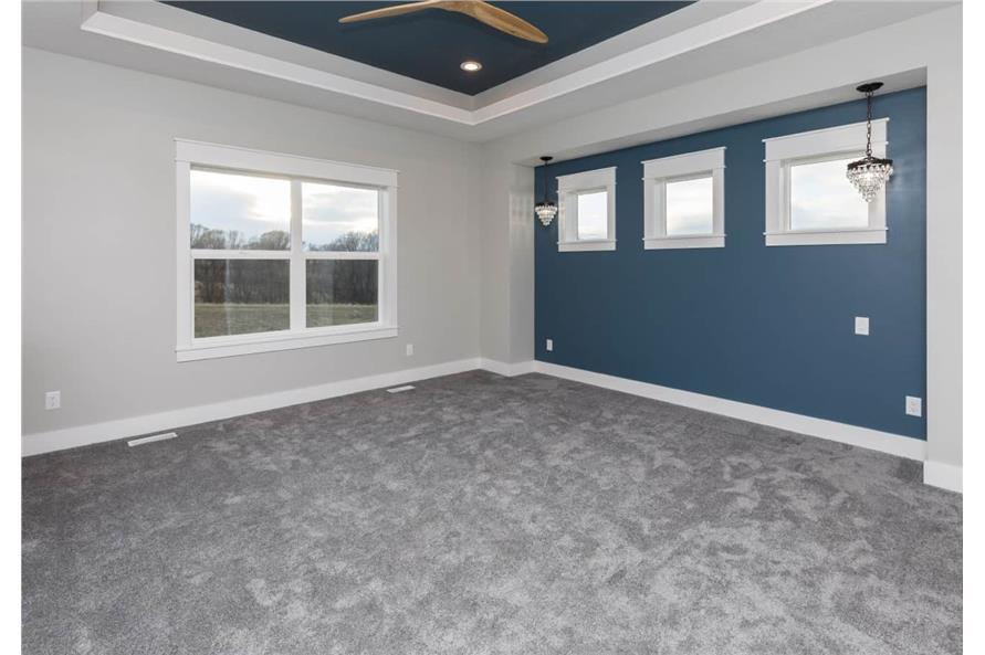 Master Bedroom of this 3-Bedroom,2005 Sq Ft Plan -101-1998