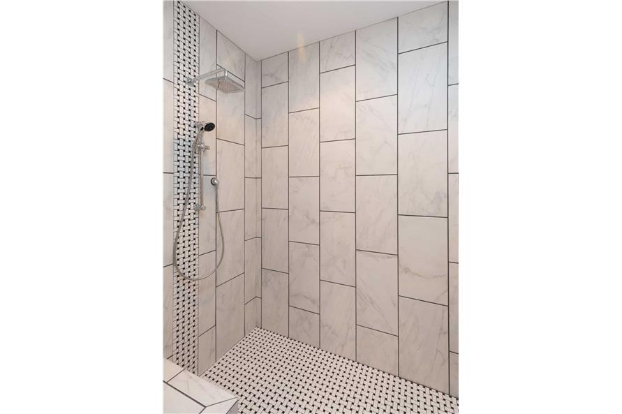 Master Bathroom: Shower of this 3-Bedroom,2005 Sq Ft Plan -101-1998