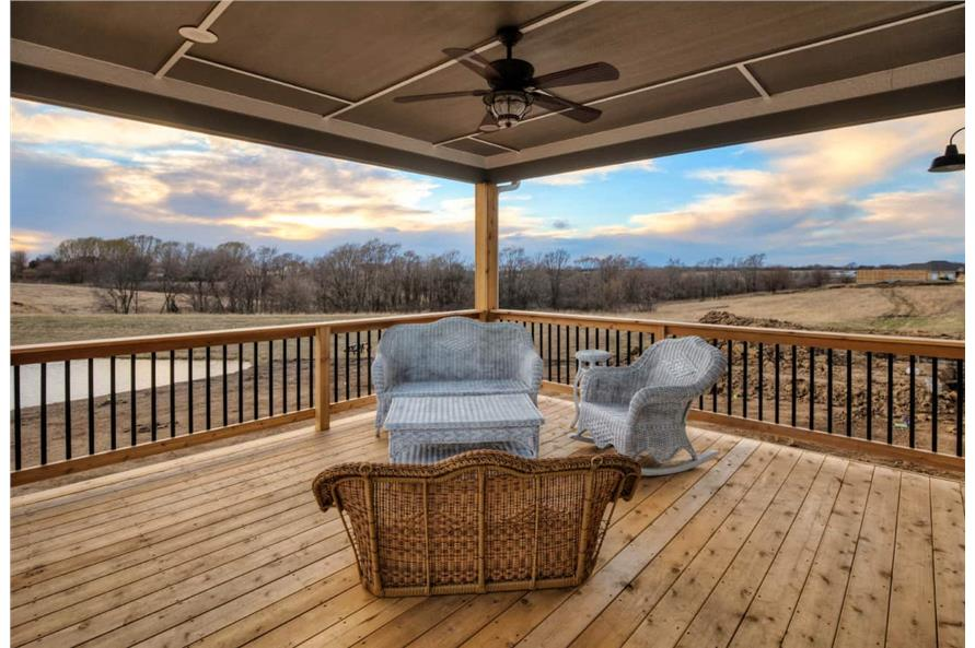 Deck of this 3-Bedroom,2005 Sq Ft Plan -101-1998