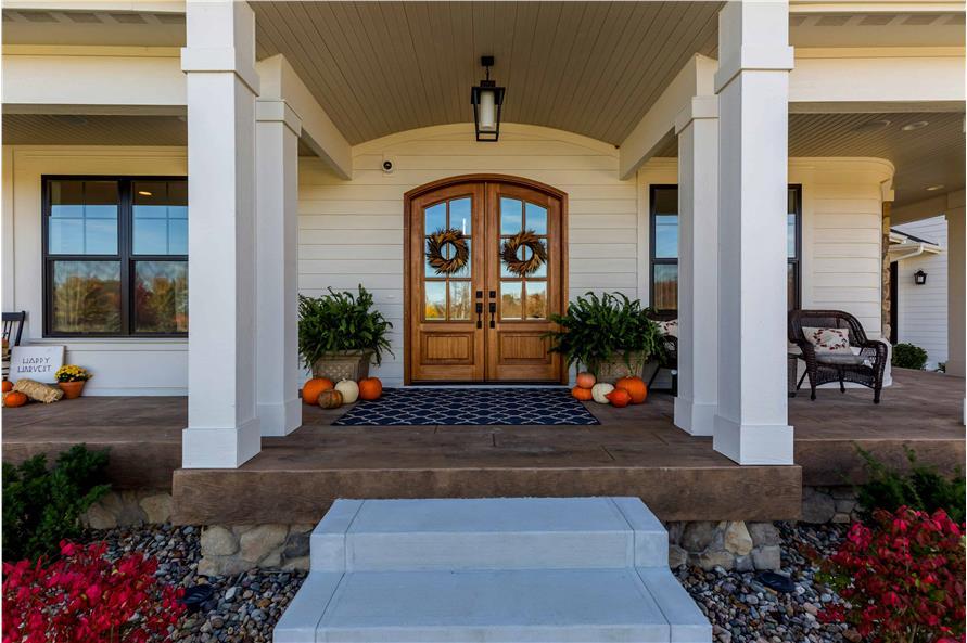 Front Door of this 5-Bedroom,4724 Sq Ft Plan -101-2006