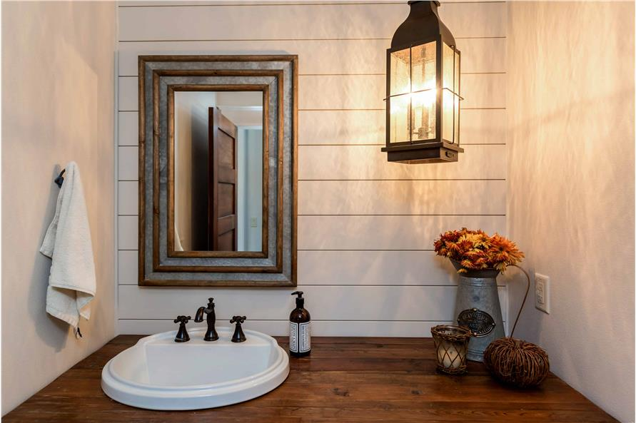 Powder Room of this 5-Bedroom,4724 Sq Ft Plan -101-2006