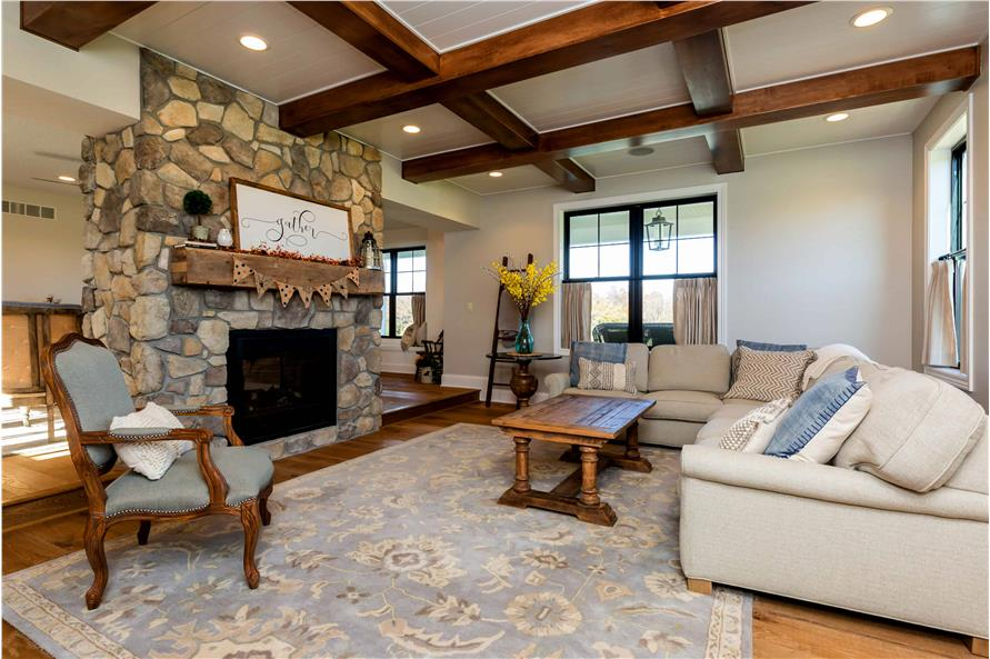 Hearth Room of this 5-Bedroom,4724 Sq Ft Plan -101-2006