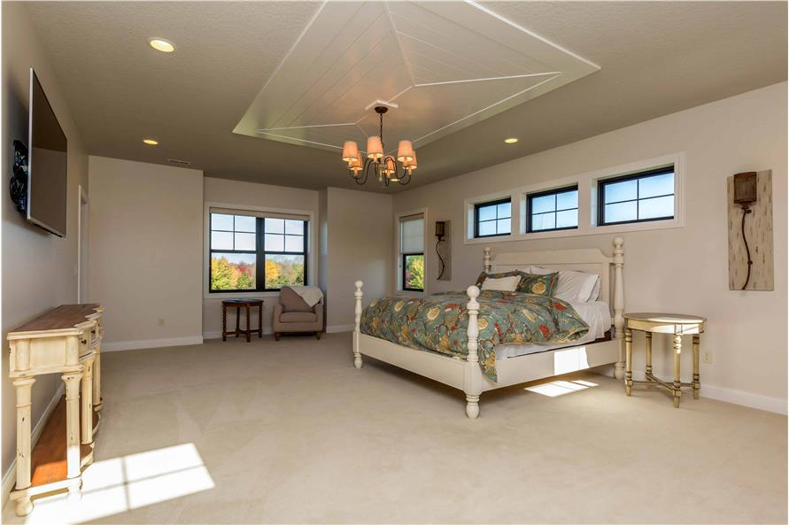 Master Bedroom of this 5-Bedroom,4724 Sq Ft Plan -101-2006
