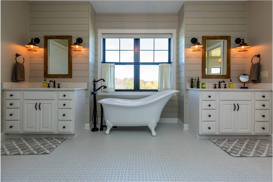 Master Bathroom: Tub of this 5-Bedroom,4724 Sq Ft Plan -101-2006