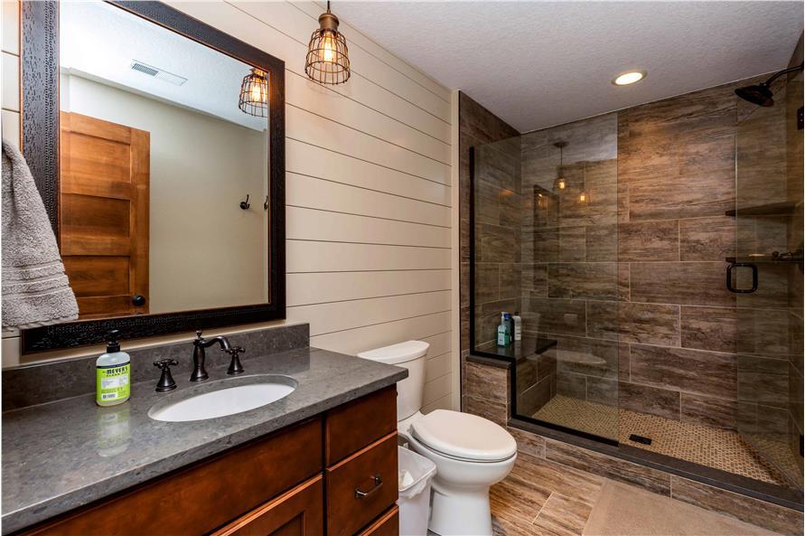 Bathroom of this 5-Bedroom,4724 Sq Ft Plan -101-2006