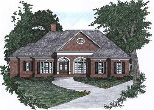 Main image for house plan # 2148
