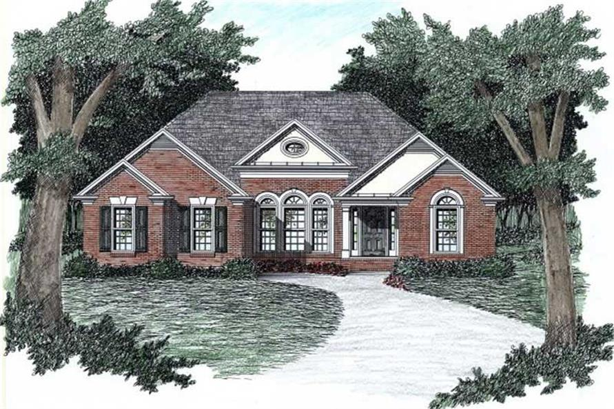Main image for house plan # 2145