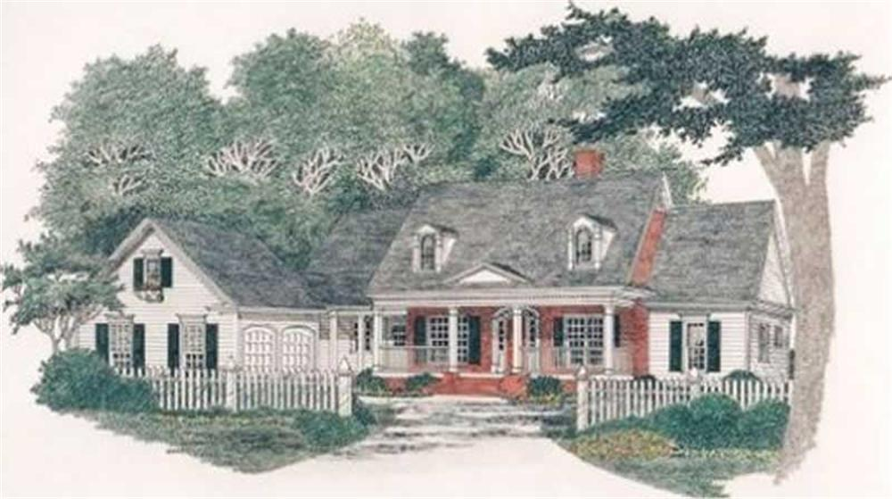 Main image for house plan # 2151