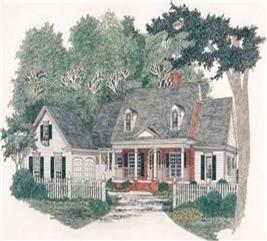 House Plan #102-1009