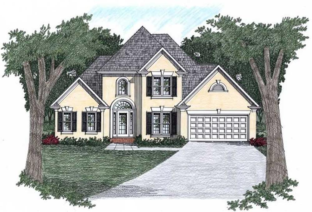 Main image for house plan # 2154