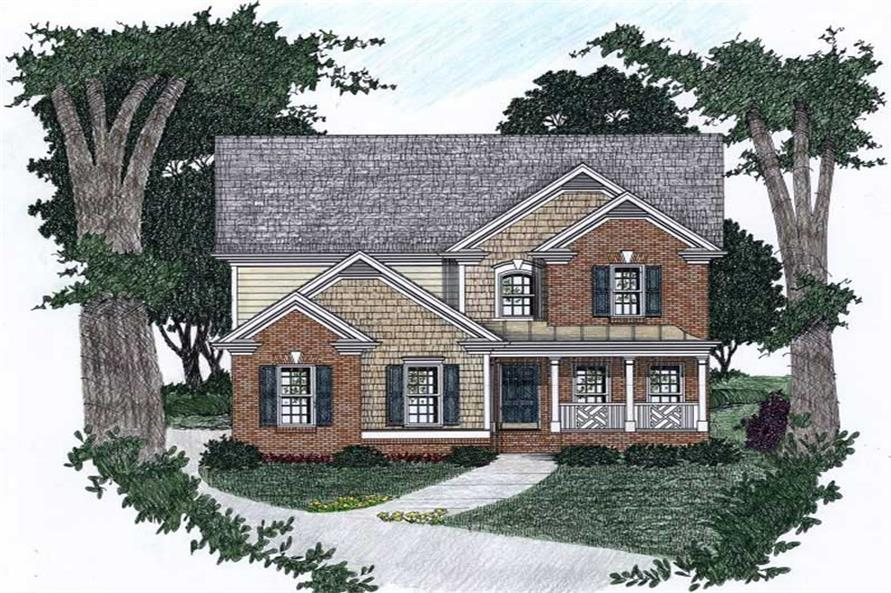 Main image for house plan # 2168