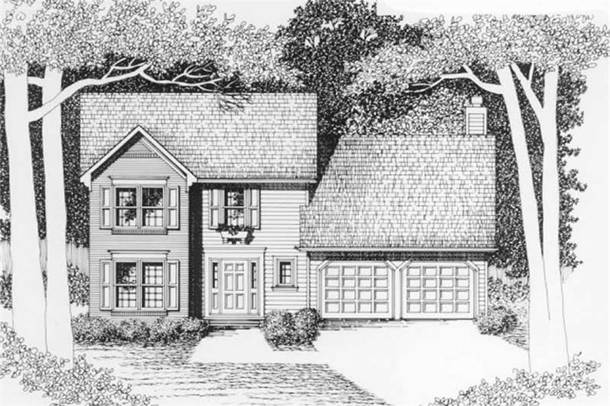Main image for house plan # 2176