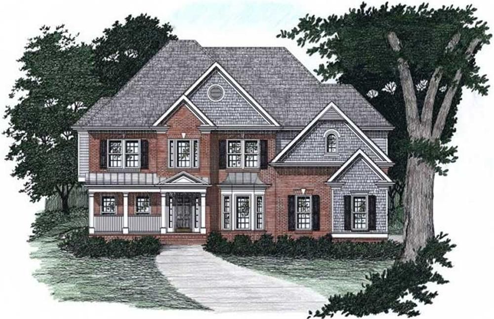 Main image for house plan # 2160