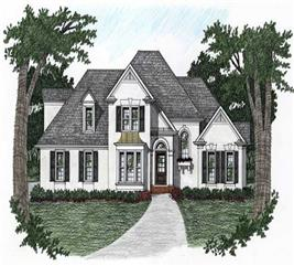 House Plan #102-1018