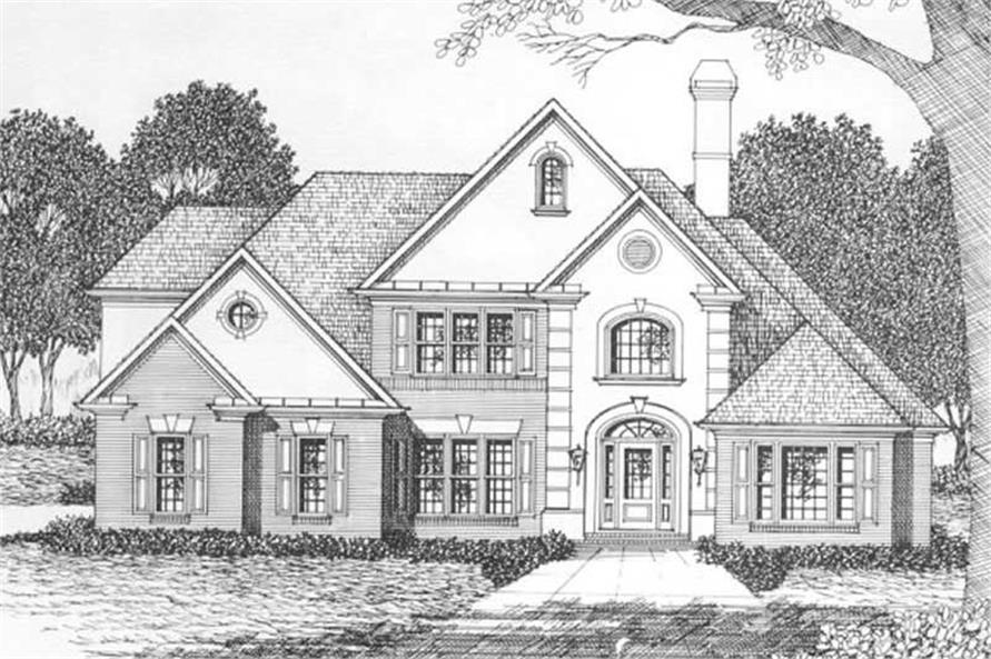 Main image for house plan # 2178