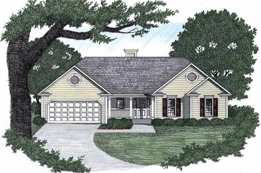 Main image for house plan # 2138