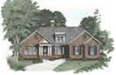 Main image for house plan # 2184