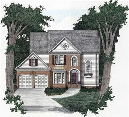 House Plan #102-1036