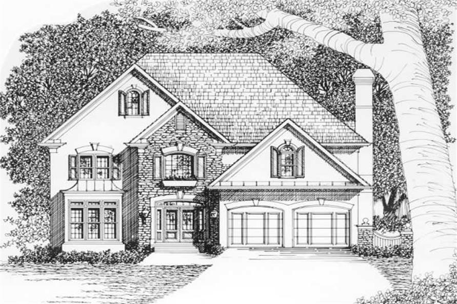 Main image for house plan # 2162