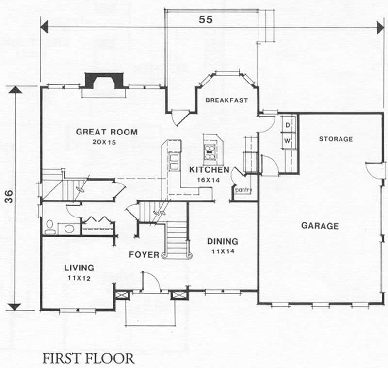European home with 4 bdrms 2567 sq ft floor plan 102 1040 for 1040 square foot house plans