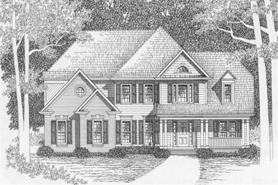 Main image for house plan # 2166