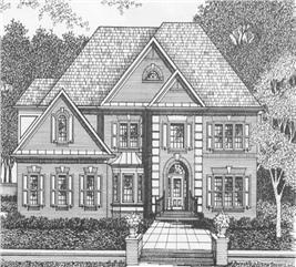 House Plan #102-1053