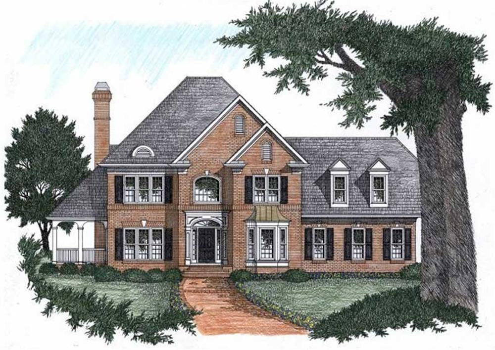 Main image for house plan # 2197