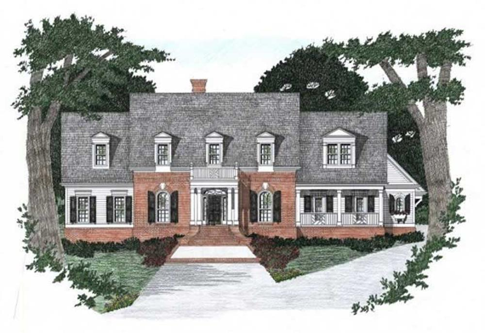 Main image for house plan # 2199