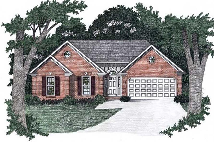 Main image for house plan # 2201