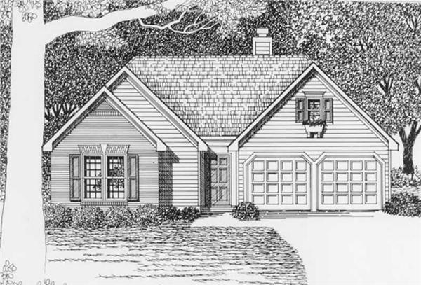 Main image for house plan # 2204
