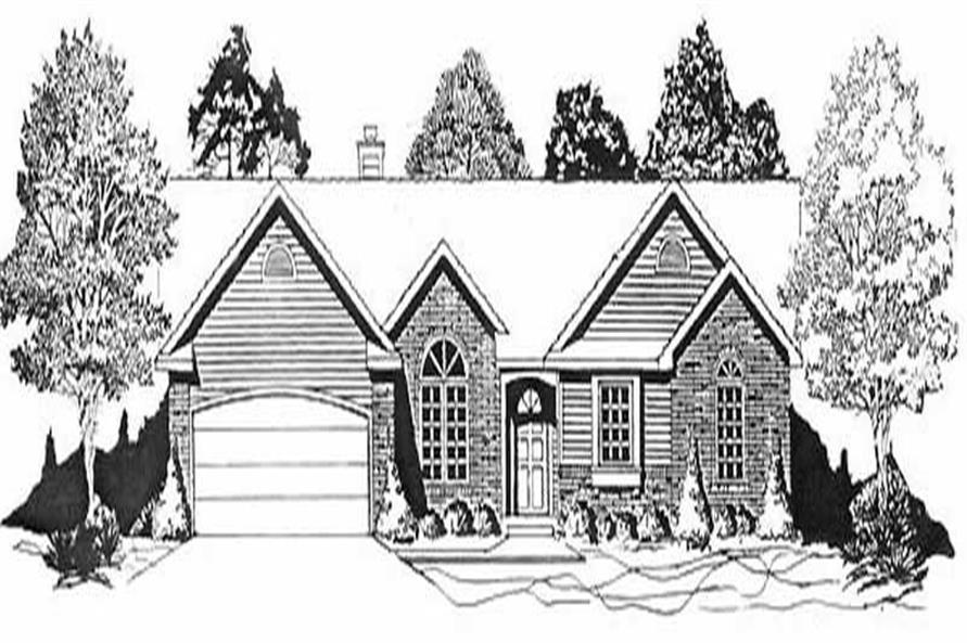 Main image for house plan # 16613