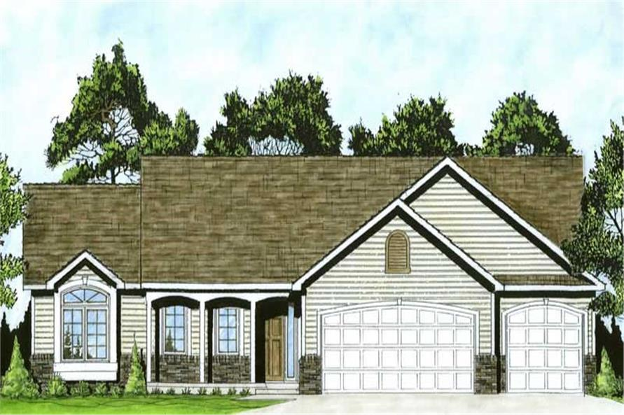 Main image for house plan # 16604