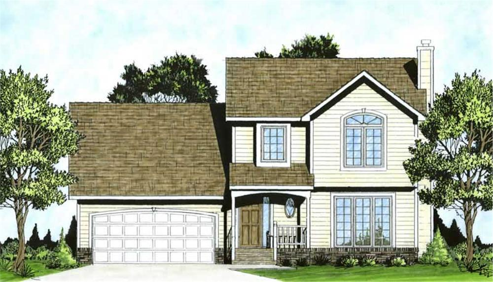 Main image for house plan # 16587