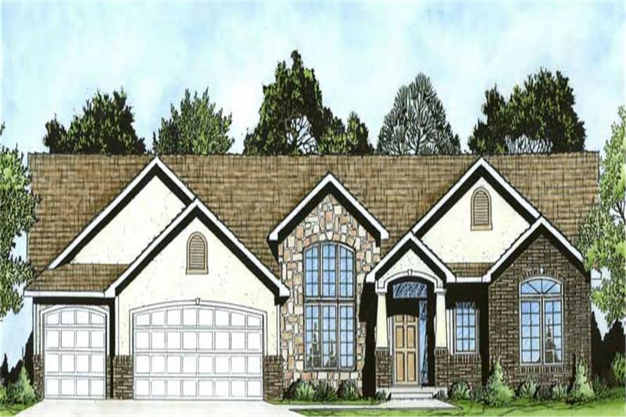 Main image for house plan # 16630