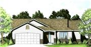 View house Plan#103-1021