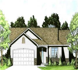 House Plan #103-1021