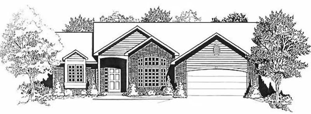 Main image for house plan # 16623
