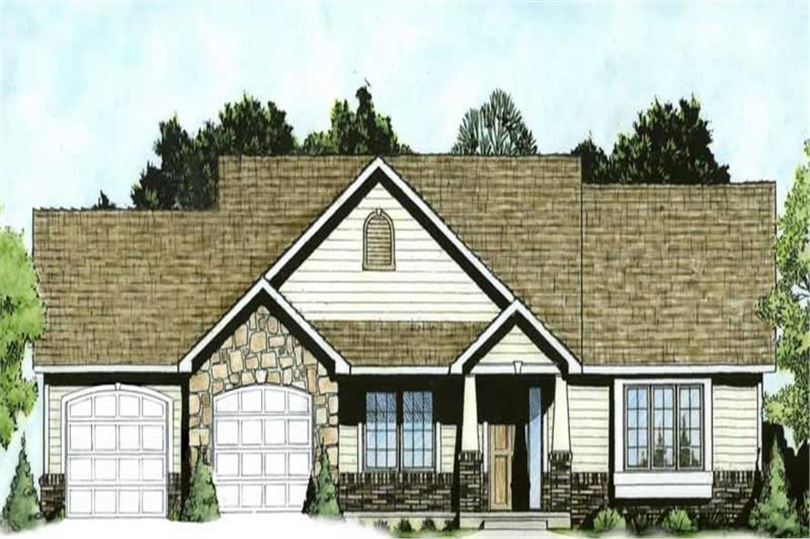 Color Rendering of this plan