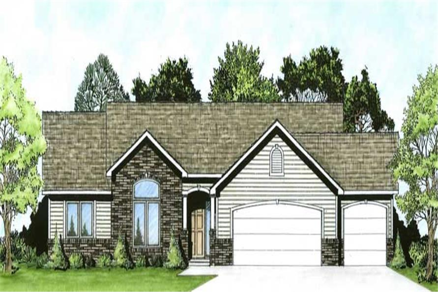 Main image for house plan # 16607