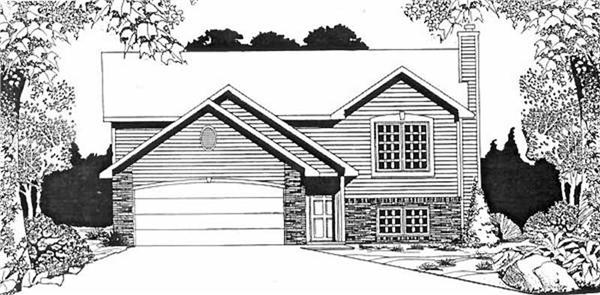 Main image for house plan # 16488