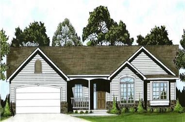 Main image for house plan # 16593
