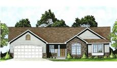 Main image for house plan # 16580