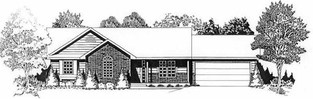 Main image for house plan # 16513
