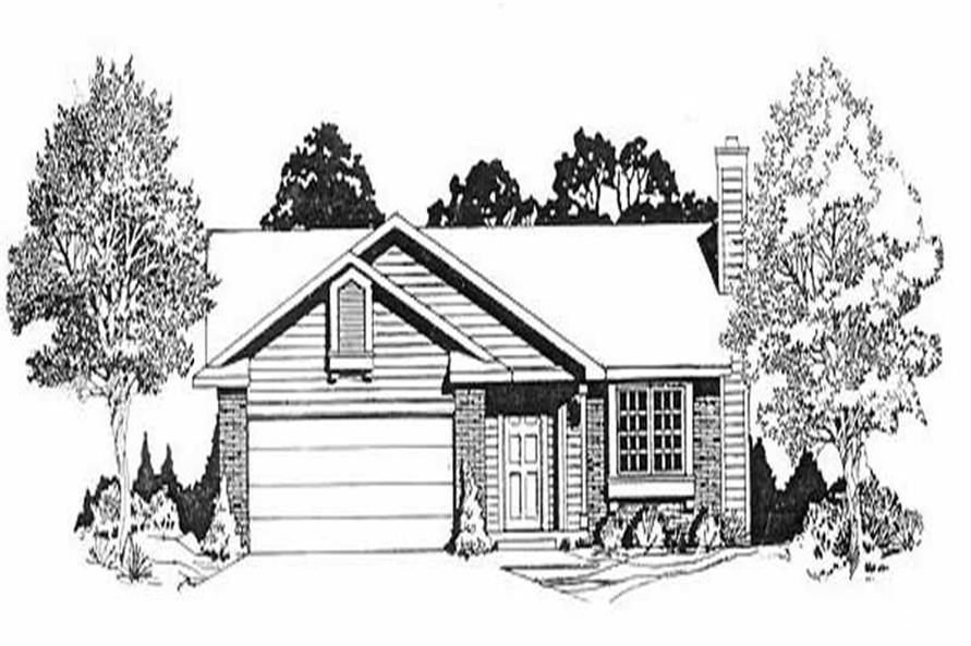 Main image for house plan # 16497