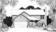 Main image for house plan # 16501