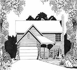House Plan #103-1091