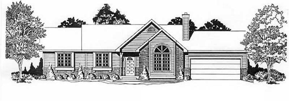 Main image for house plan # 16515