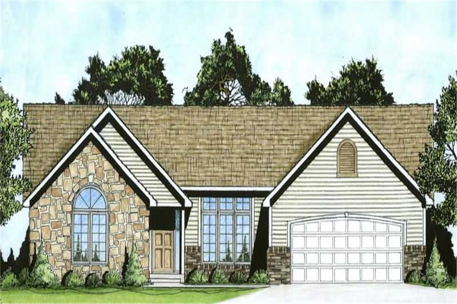 Main image for House Plan # 103-1096