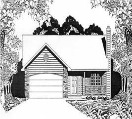 House Plan #103-1098