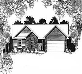 House Plan #103-1099